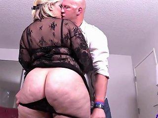 Fat Whore Enjoys Big Prick